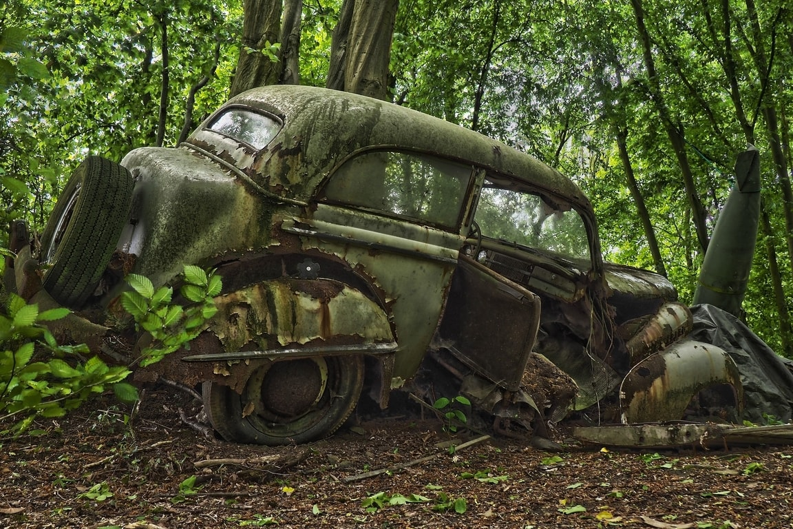 Spracovanie starých vozidiel